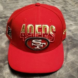 49ers hat by new era  SZ 7  5/8 60.6cm